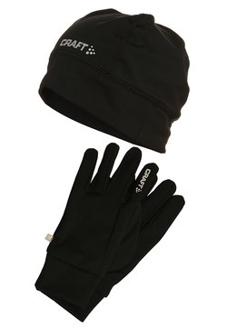 Craft - RUNNING SET - Guantes - black