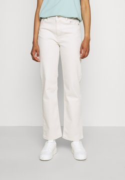Dr.Denim - LI - Jeansy Straight Leg - light ecru