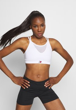 Tommy Sport - LOW SUPPORT BRA - Sport BH - white