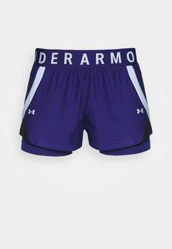 Under Armour - PLAY UP SHORTS - Pantalón corto de deporte - blue