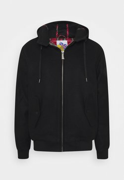 HARRINGTON - TAYLOR HOODED - Bombertakki - black