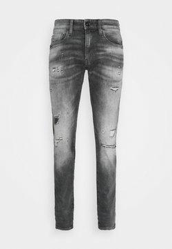 G-Star - REVEND - Slim fit jeans - vintage ripped basalt