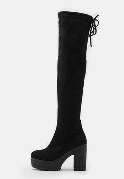 Koi Footwear - VEGAN - Korolliset saappaat - black