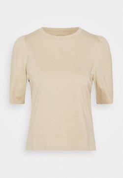 ONLY Petite - ONLNORA PASTEL LIFE TEE - Camiseta básica - humus