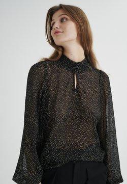 InWear - Bluse - black minimal dot
