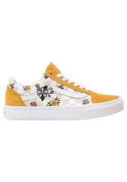 Vans - OLD SKOOL - Sneakers laag - (garden check) blk/tr wht