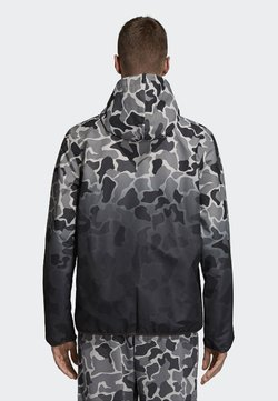 adidas Originals - CAMOUFLAGE  - Windbreaker - black/dark grey