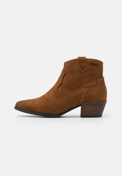 TOM TAILOR - Ankle boot - cognac