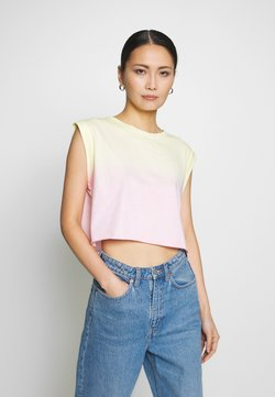 Guess - SUNRISE TEE - Top - pink