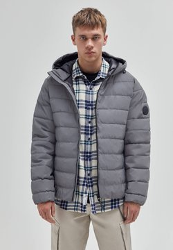 PULL&BEAR - Winterjacke - metallic grey