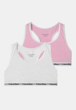 Calvin Klein Underwear - 2 PACK - Bustino - romantic pink/white