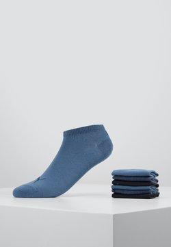 Puma - SNEAKER PLAIN 6 PACK UNISEX - Varrettomat sukat - denim blue