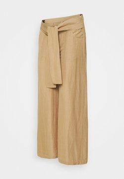 Esprit Maternity - PANTS - Spodnie materiałowe - sand