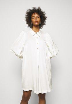 DESIGNERS REMIX - EMME DRESS - Vestido camisero - cream