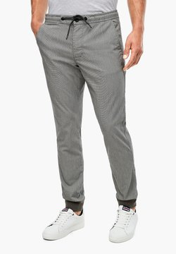 s.Oliver - Jogginghose - dark grey check