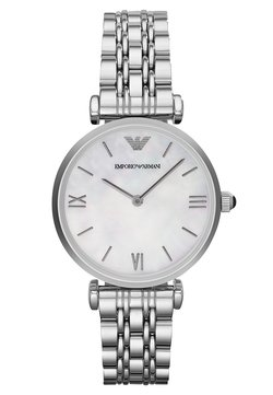 Emporio Armani - Uhr - silver-coloured