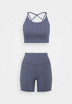Cotton On Body - ACTIVE SET - Verryttelypuku - storm blue