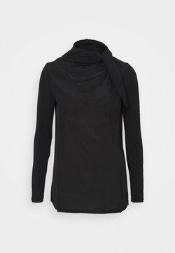 MAX&Co. - GINESTRA - Maglietta a manica lunga - black