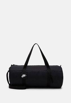 Nike Sportswear - HERITAGE - Sporttasche - black/white