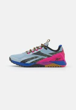 Reebok - NANO X1 TR ADVENTURE - Kuntoilukengät - gable grey/bright cobalt/pursuit pink