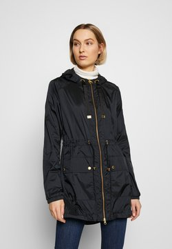 Barbour International - WHEELHOUSE SHOWERPROOF - Parka - black/gold