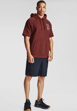Under Armour - T-Shirt print - cinna red