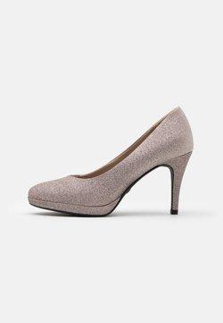 Tamaris - COURT SHOE - High Heel Pumps - space glam