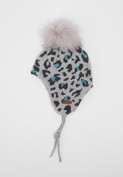 Maximo - LEO - Mütze - graumeliert/hortensie