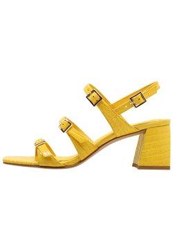 What For - EMILY - Sandalen met hoge hak - light yellow