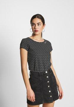 Ragwear - ZIG ZAG - T-Shirt print - black