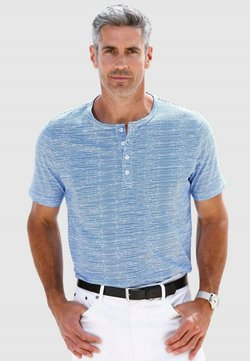 Roger Kent - T-Shirt print - weiß,blau
