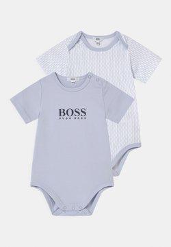 BOSS Kidswear - 2 PACK UNISEX - Body - pale blue