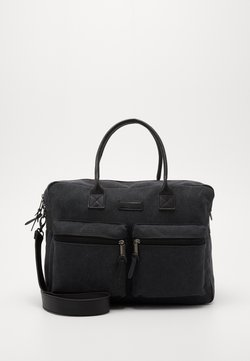 Kidzroom - DIAPER BAG KIDZROOM VISION OF LOVE - Borsa fasciatoio - black