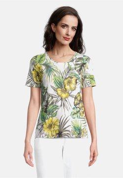 Betty Barclay - T-Shirt print - white/green