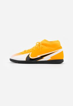 Nike Performance - MERCURIAL 7 CLUB IC - Indoor football boots - laser orange/black/white