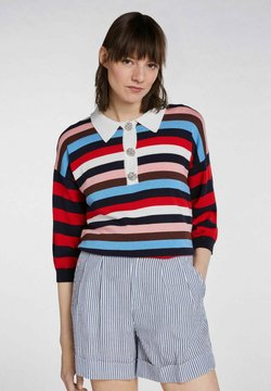 SET - Poloshirt - white red