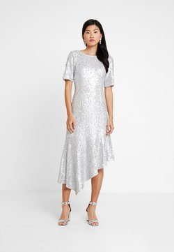 Adrianna Papell - SEQUIN DRESS - Occasion wear - silver