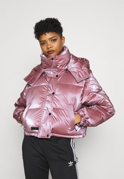 Sixth June - OVERSIZE WITH SHINY - Winter jacket - pink