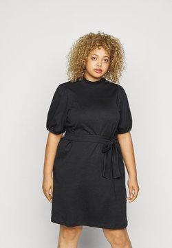 Vero Moda Curve - VMFOREST DRESS - Jerseykleid - black