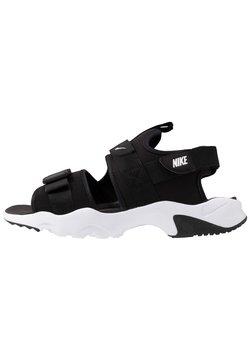 Nike Sportswear - DUMMY - Walking sandals - black/white