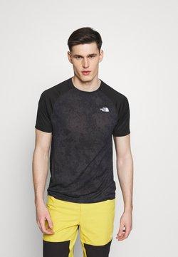 The North Face - MENS AMBITION - Camiseta estampada - dark grey/black