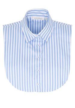 Eterna - Hemdbluse - hellblau/weiß