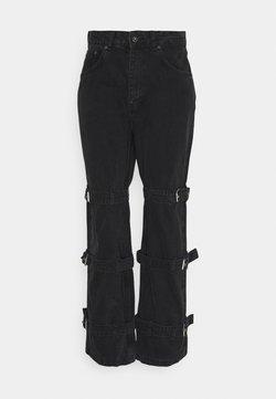 The Ragged Priest - BUCK JEAN - Straight leg jeans - charcoal