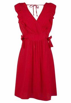 NAF NAF - Cocktailkleid/festliches Kleid - red