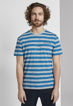 TOM TAILOR - T-shirt con stampa - blue