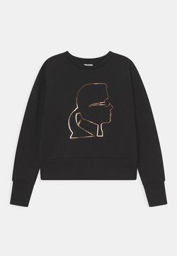 KARL LAGERFELD - Långärmad tröja - black