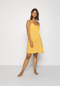 s.Oliver - DRESS - Beach accessory - vanille