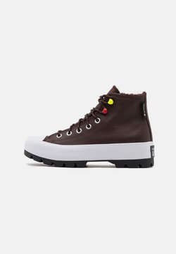 Converse - CHUCK TAYLOR ALL STAR MC LUGGED - High-top trainers - dark root/white/black