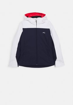 Kjus - GIRLS FORMULA JACKET - Kurtka snowboardowa - blue/white