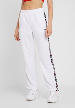 Fila - THORA TRACK PANTS - Jogginghose - bright white